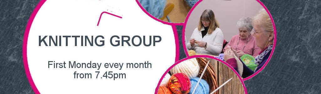 Social Knitting Group Grey